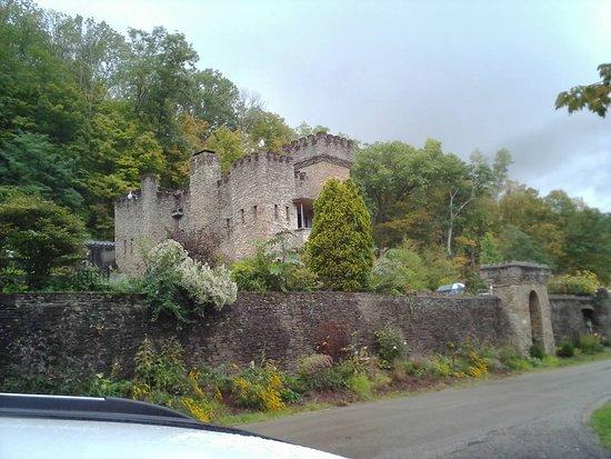 Loveland Castle: castle from a access road