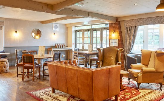 Branston, UK: Bar/Lounge