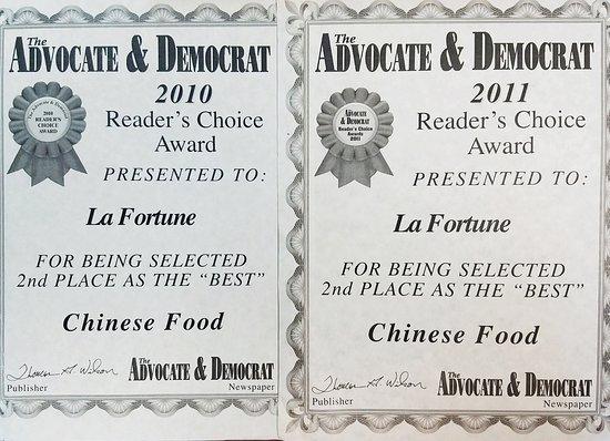 แมดิสันวิลล์, เทนเนสซี: Thank you very much for your customer support we all really appreciate it here at La Fortune. We