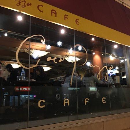 Cafe Pazzo Menu