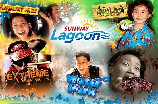 Sunway Lagoon: Bilhete de Admissão e...
