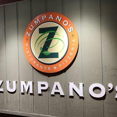 Street view of Zumpano's in Burlington