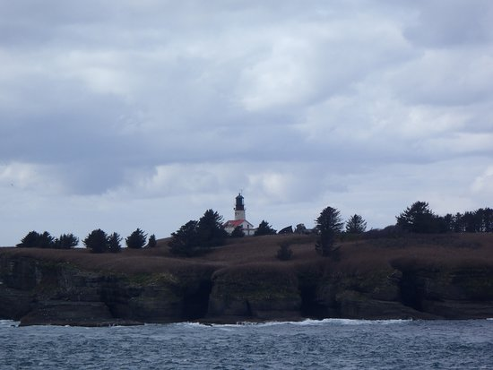 Clallam Bay, WA: Cape Flattery light house, not accessible by the public
