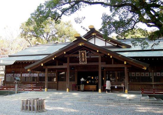 猿田彦神社, さだひこ造りと呼ばれる独特の社殿