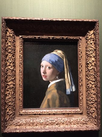 The Mauritshuis Royal Picture Gallery: 戴珍珠耳環的少女