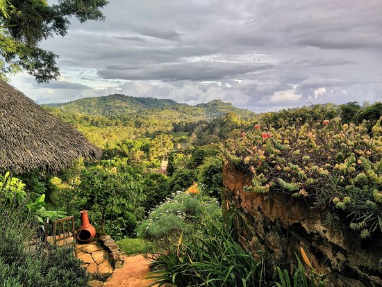 Lushoto, Tanzania: View over a part of the Irente Biodiversity Reserve