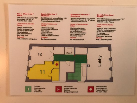 Hotel Limmatblick: フロアの概要