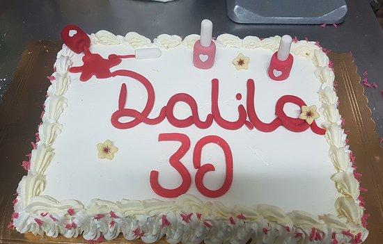 Torta Di Compleanno Foto Di Caffetteria Pasticceria Del Corso