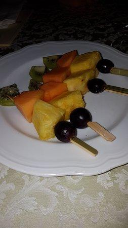 Venetian Galleon: Spiedini di frutta fresca