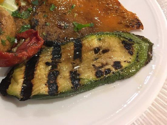 Best Western Hotel La Solara Sorrento: Grilled vegetables