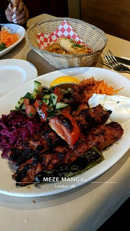Meze Mangal Restaurant London
