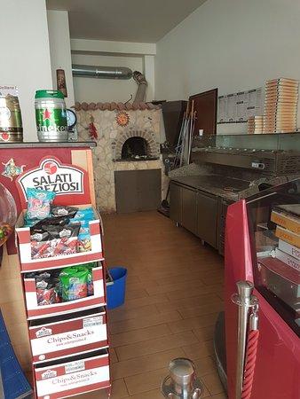 Mascali, Italia: Angolo pizza