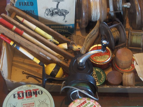 Vintage Fishing Tackle Picture Of