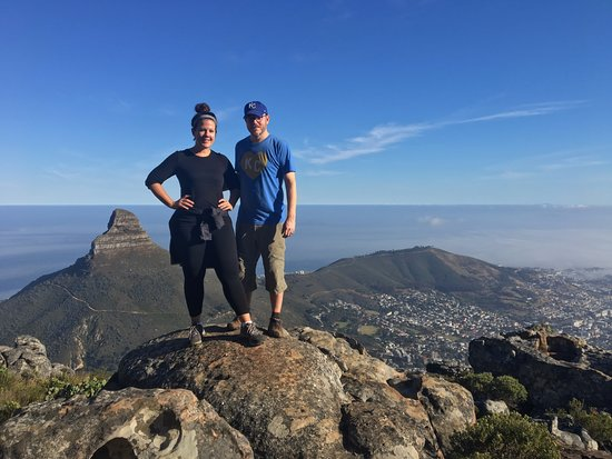 Hike Table Mountain: Midway up India Venster!