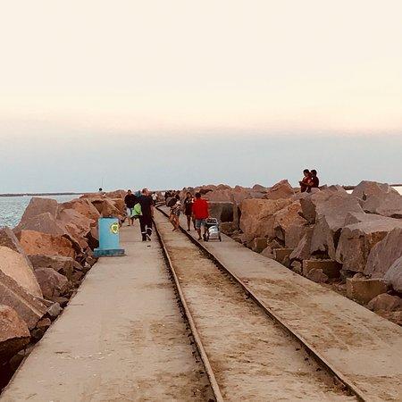Cassino, RS: Praia Molhes da Barra