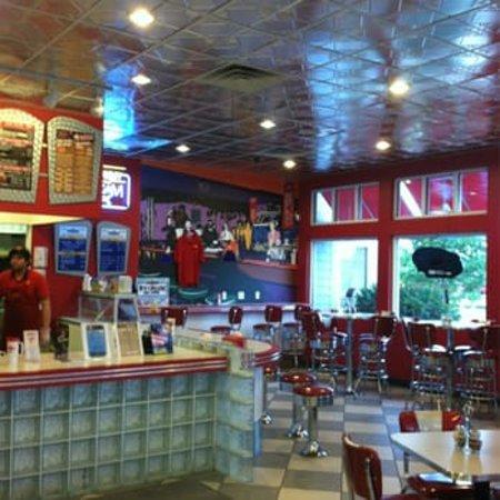 Maid-Rite Diner: Maid Rite Diner - interior