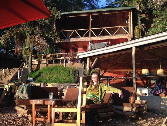Jinja, Uganda: der perfekte Ort um in Jinija bei einem kühlen Getränke den Sunset zu geniesen!