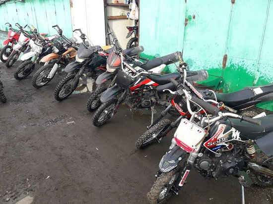 Pitbike Garage