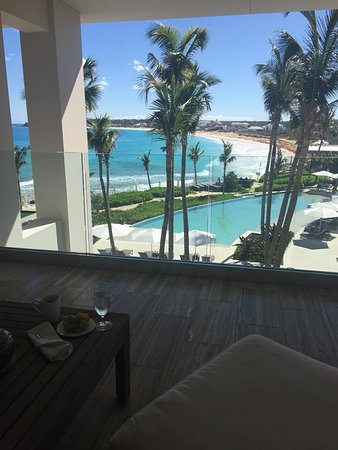 West End Village, Anguilla: View from balcony