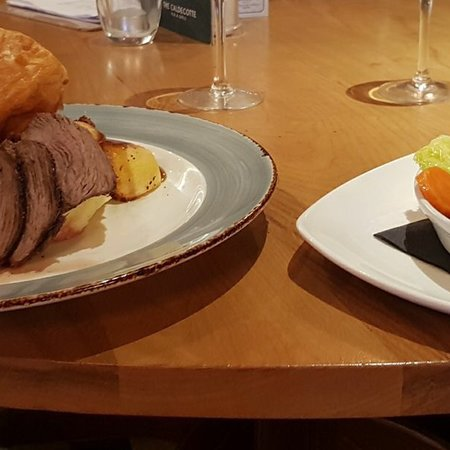 Greasby, UK: Roast beef Sunday lunch