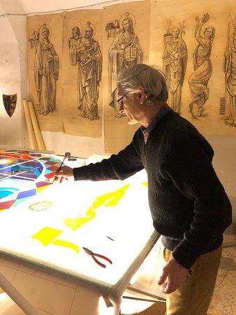 Vetrate Artistiche Toscane - Studio Tours