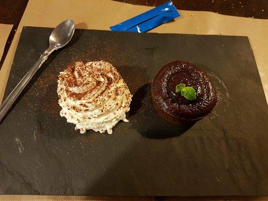 Le Trayas, France: Fondant chocolat