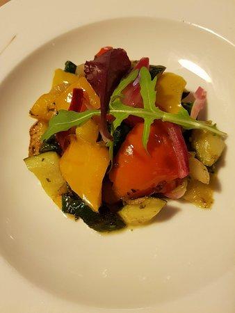 Le Trayas, France: Sauté de légumes