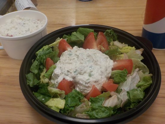 My lunch at Noah's Cafe.