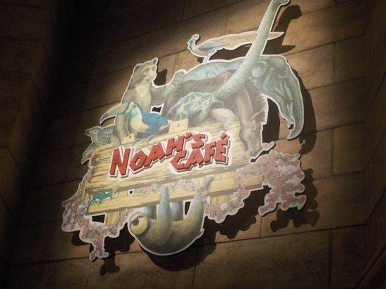 Noah's Cafe: Sign