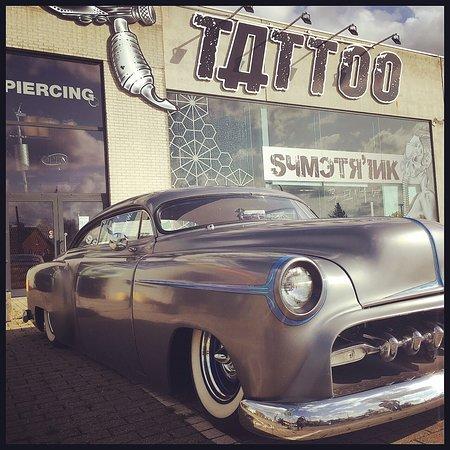 Messancy, بلجيكا: Symetr'Ink tattoo shop