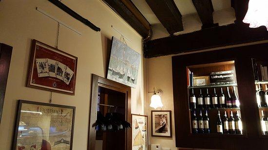 Osteria Al Diavolo E L'acquasanta : L`interno del ristorante!