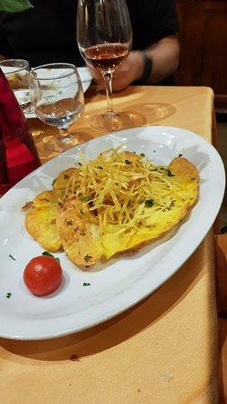 Fisch unter Kartoffelkruste