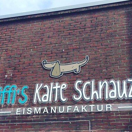 Erkelenz, Deutschland: Fiffi's kalte Schnauze