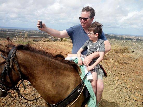 Rancho Loco: Thanks for choosing to ride with us! #aruba #horsebackriding #beach #tripadvisor