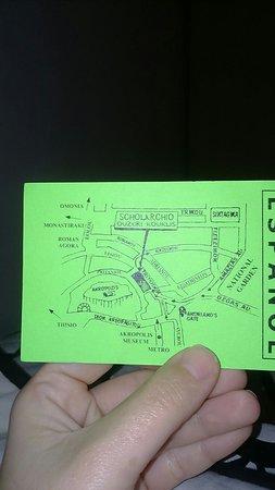 Εστιατόριο Σχολαρχείον: Publicidad del lugar mapa