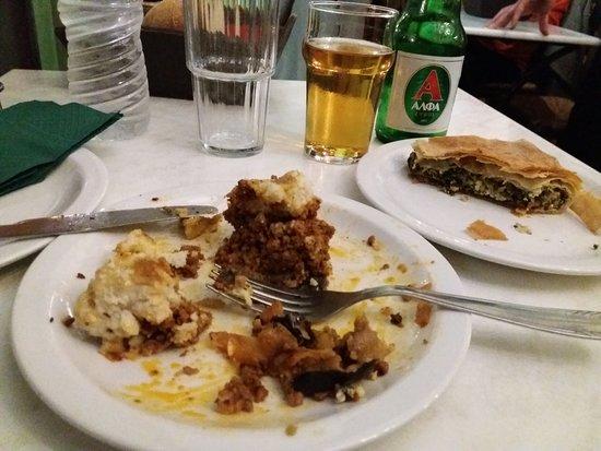 Εστιατόριο Σχολαρχείον: Mousaka