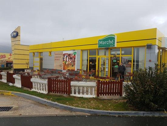 Jasenice, كرواتيا: ร้านนี้ค่ะ
