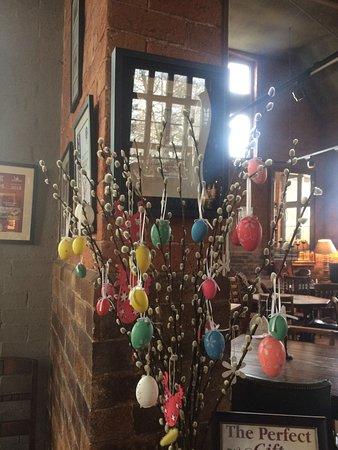 Malpas, UK: Pretty Easter decoration