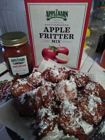The Apple Barn Cider Mill And General Store : The Apple Barn Cider Mill Fritters!!!!!