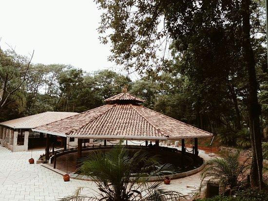 Jarinu, SP: Campo Sagrado da Seara de Luz Tupinambá: local em que acontecem as ritualisticas de atendimento.