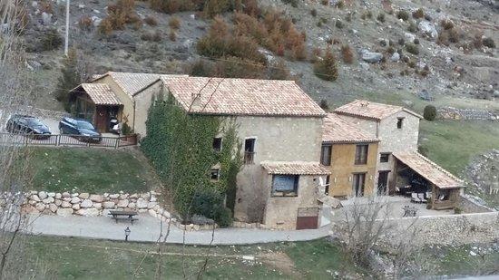 La Coma I La Pedra, Spain: Vista del hotel