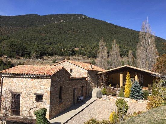 La Coma I La Pedra, Spain: Vista hotel