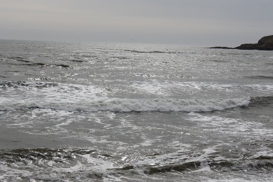 Stonehaven Beach: the view