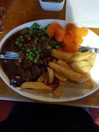 Plas Glyn y Weddw: All amazing meals.