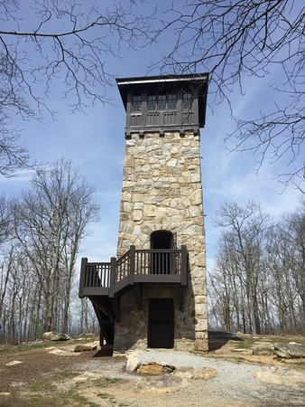 Fort Mountain State Park: The Fire Tower
