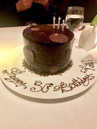 Dovetail Special Birthday Cake