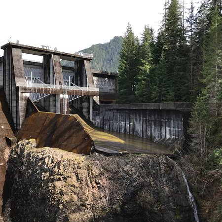 Montesano, WA: Wynoochee Dam is a recreation spot with a campground that is open in the summer time. Trails and