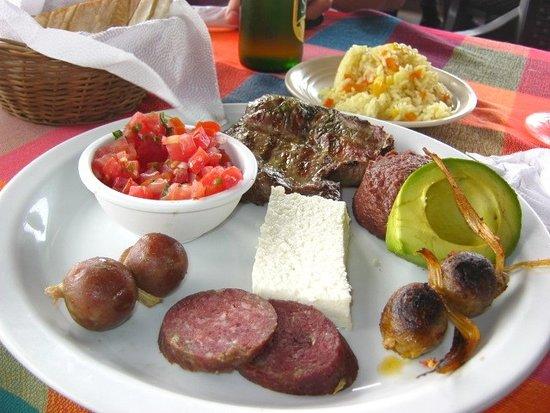 Cojutepeque, El Salvador: Este es el plato típico