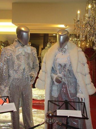 The Liberace Museum Collection Tour: Two of Liberace's costumes