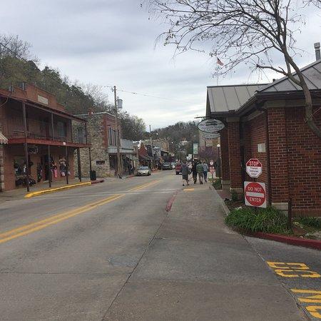 Eureka Springs Historical Downtown Foto